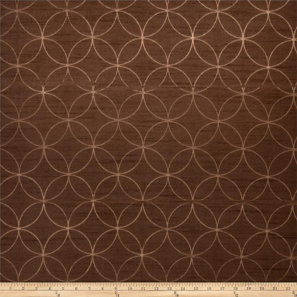 Trend 2084 Faux Silk Chocolate