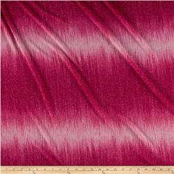 Stretch Sparkle Slinky Knit Ombre Fuschia/Pink