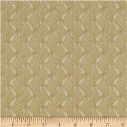 Gatsby Metallic Shell Cream Fabric