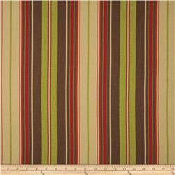 Premier Prints Veranda Stripe Autumn/Natural Fabric