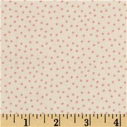About A Boy About A Girl Tiny Star Flowers Cream/Pink