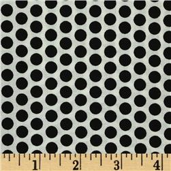 Basic Training Medium Dot White/Black Fabric