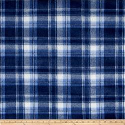 Polar Fleece Print Parson Plaid Blue