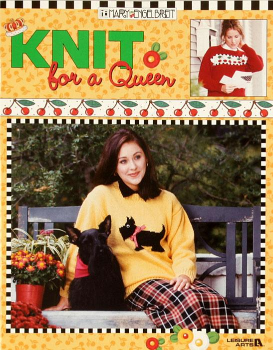 "Leisure Arts Mary Engelbreit ""Knit for a Queen"" Book"