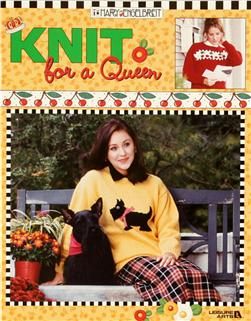 Leisure Arts Mary Engelbreit ''Knit for a Queen