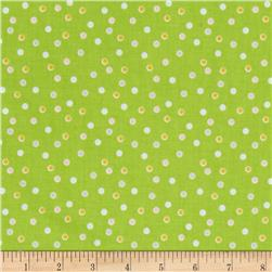 Riley Blake Sweet Orchard Dots Green