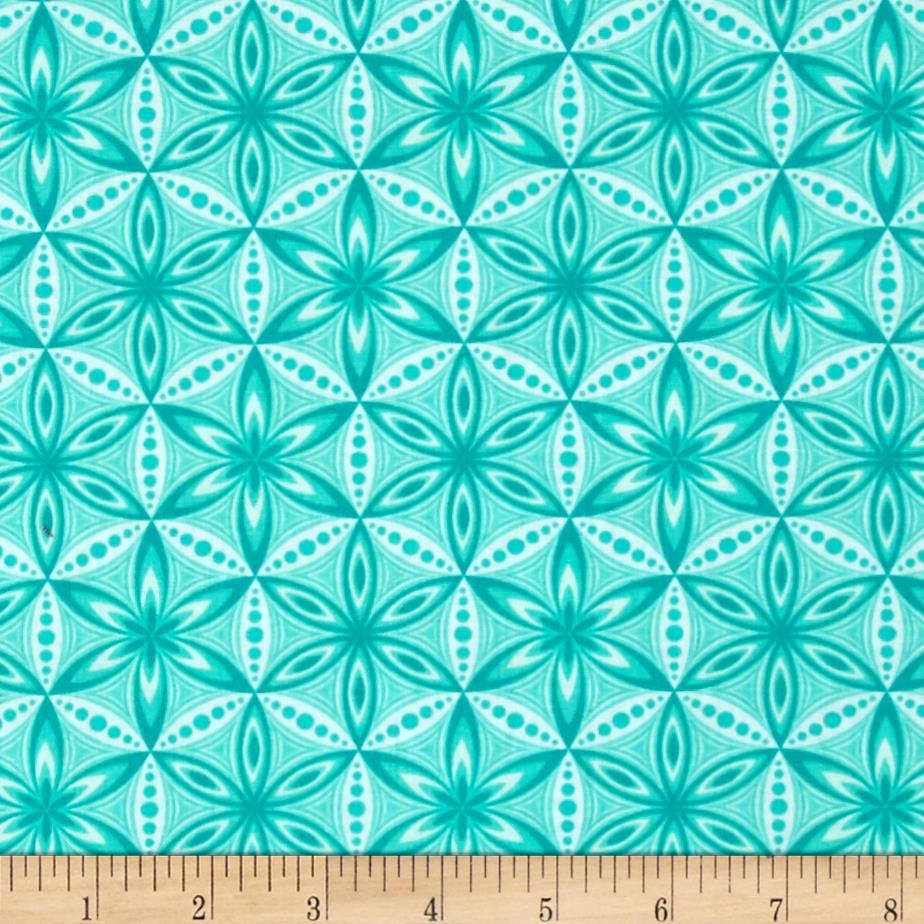 Transformation Flower of Life Turquoise