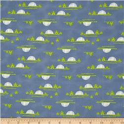Art Gallery Safari Moon Village Horizon Set Fabric