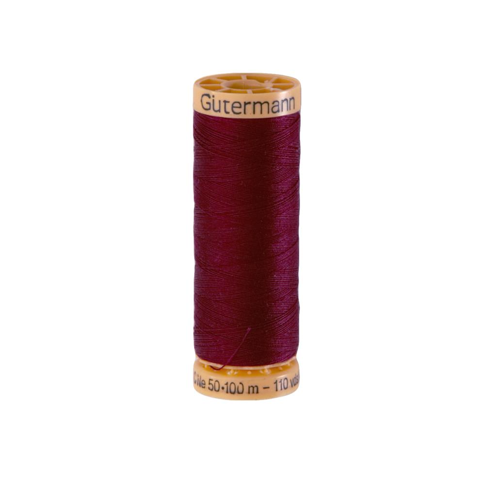 Gutermann Natural Cotton Thread 100m/109yds Plum