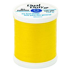 Coats & Clark Dual Duty XP 125yd Bright Sun Yellow