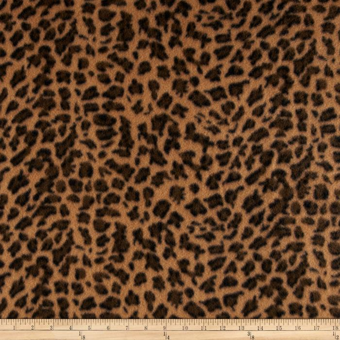 Fleece Skins Cheetah Sienna