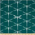 Koi Organic Cotton Canvas Victory Teal