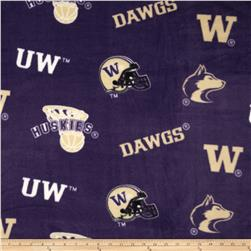 Collegiate Fleece University of Washington Black