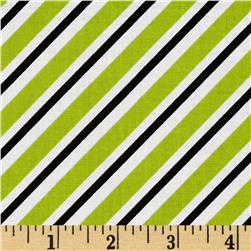 Riley Blake Pepe in Paris Airmail Lime Fabric