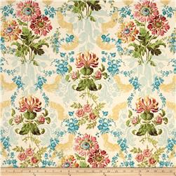 Jenny Jane Metallic Floral Damask Parchment/Gold