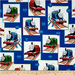 Thomas the Train Patchwork Blue