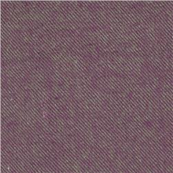 Primo Plaids V Flannel Textured Solid Purple