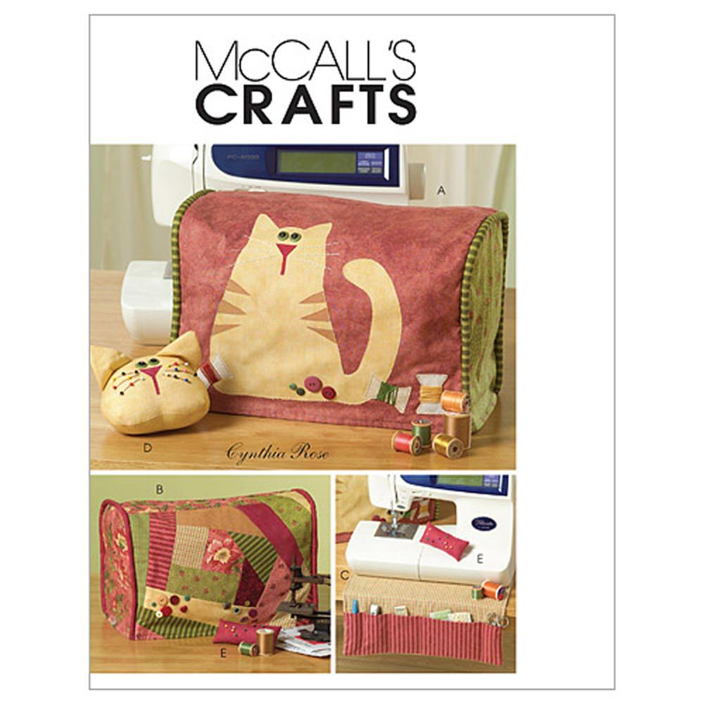 McCall's Sewing Machine Cover and Accessories Pattern M5017 Size OSZ