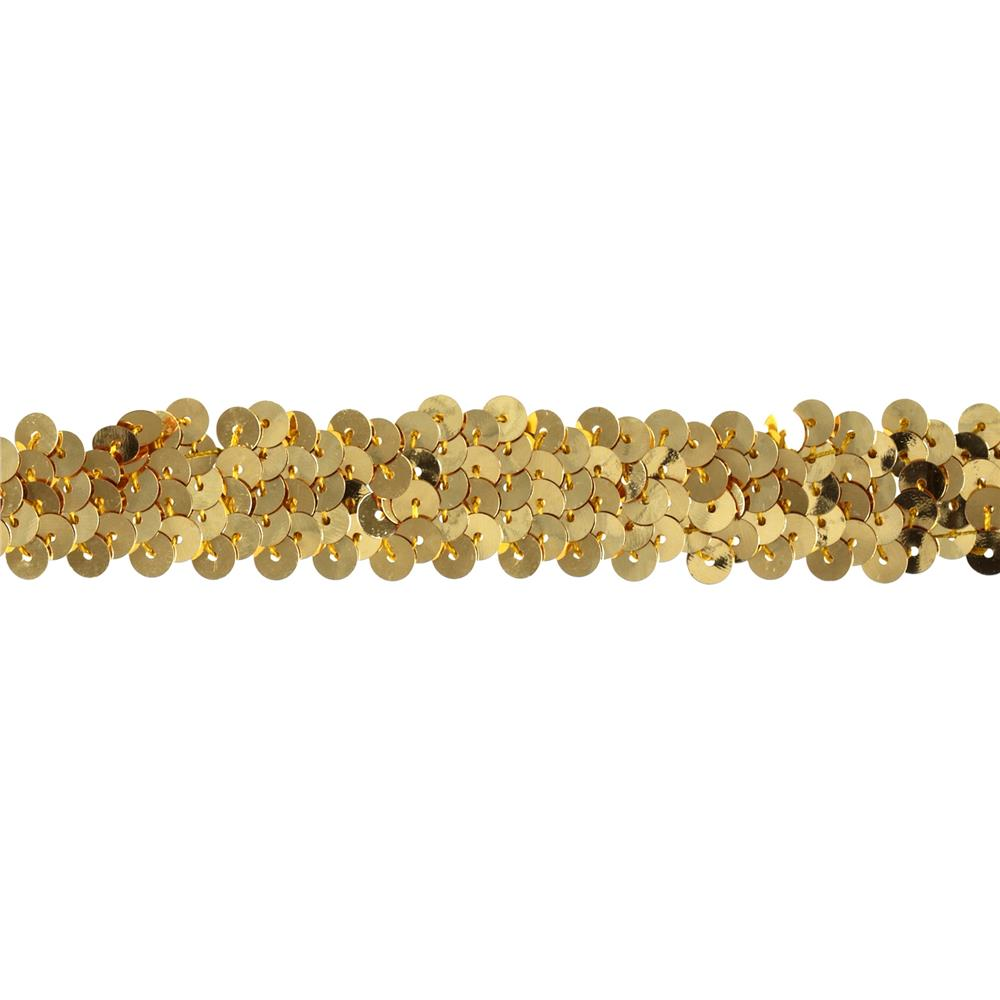Team Spirit 3/4'' #30 Sequin Trim Gold