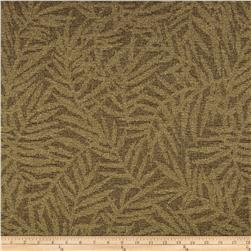 Robert Allen Promo Palm Fronds Chenille Amber Fabric