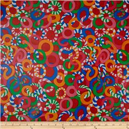Brandon Mably Laminated Cotton Jolly Red