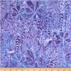 Tonga Batik Reef Florals Grape