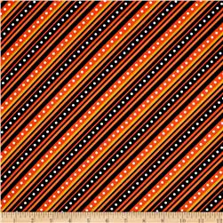 Mind Your Mummy Diagonal Stripe Orange