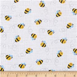 Gauze & Effect Double Gauze Buzzy Bee Yellow