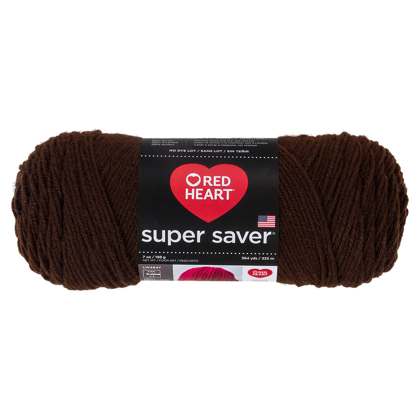 Image of Red Heart Super Saver Yarn 365 Coffee