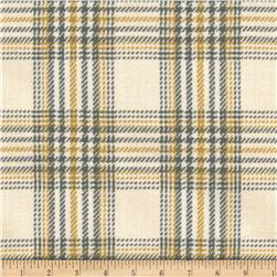 Laura & Kiran Cheshire Plaid Grey/Mustard