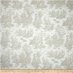 Premier Prints Jamestown Toile Ecru