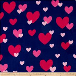 Simply Raining Heart Navy/Pink
