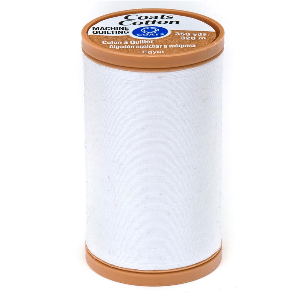 Coats & Clark Machine Quilting Cotton Thread 350 yd. White