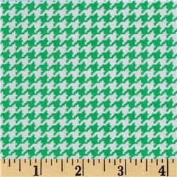 Michael Miller Tiny Houndstooth Fern Fabric