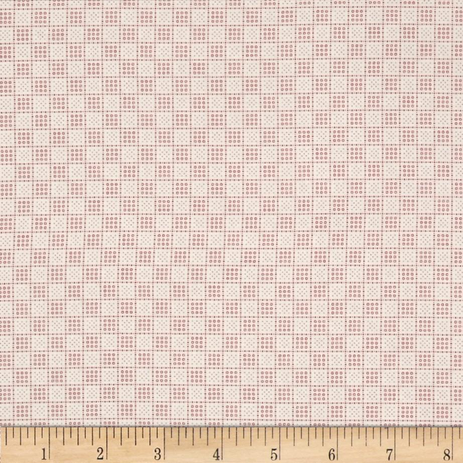 Downton Abbey II Small Plaid Red