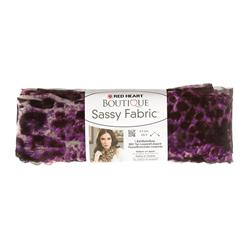 Red Heart Yarn Boutique Sassy Fabric Purple Panther