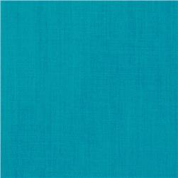 Cotton Blend Broadcloth Turquoise