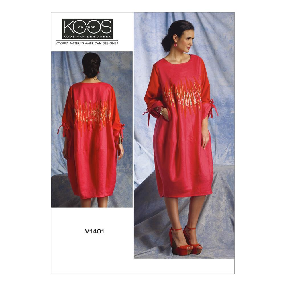 Vogue Misses' Dress Pattern V1401 Size B50