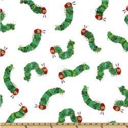 The Very Hungry Caterpillar White/Green Fabric
