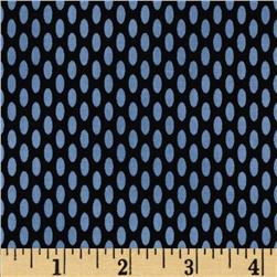 World of Romance Oval Dot Black/Blue