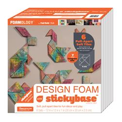 Foamology Six Piece Design Foam Tangram 12'' x