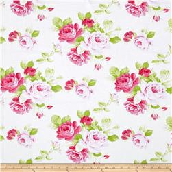 Tanya Whelan Sadie's Dance Card Big Rose White