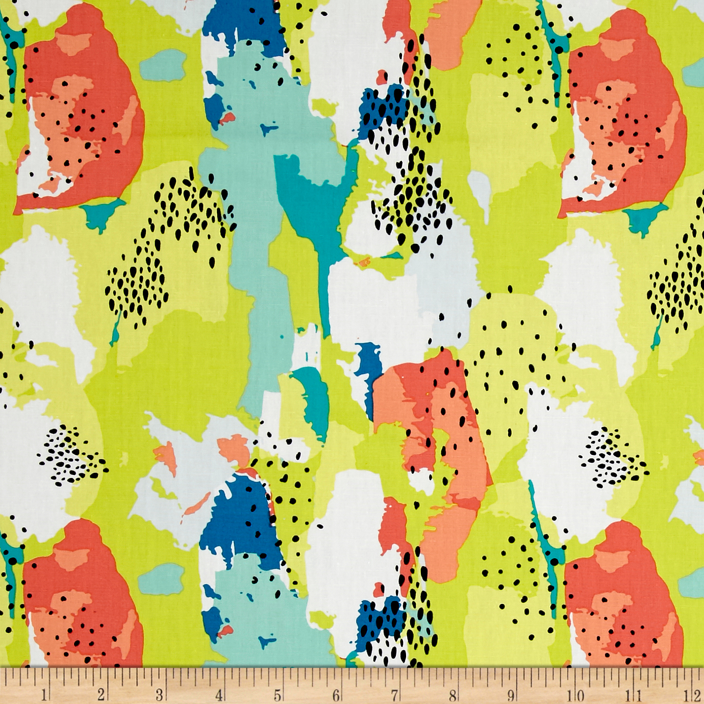 Art Gallery Here Comes the Fun Improv Strokes Citrus Fabric by Art Gallery in USA