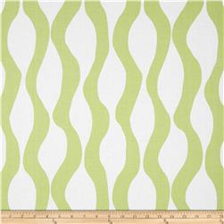 Poppy Modern Lava Stripe Green/White