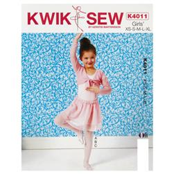 Kwik Sew Shrug, Leotard and Skirt Pattern