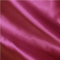 Charmeuse Satin Fuchsia Fabric