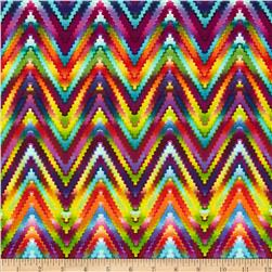 Kanvas Patio Prints Rainbow Ric Rac Multi