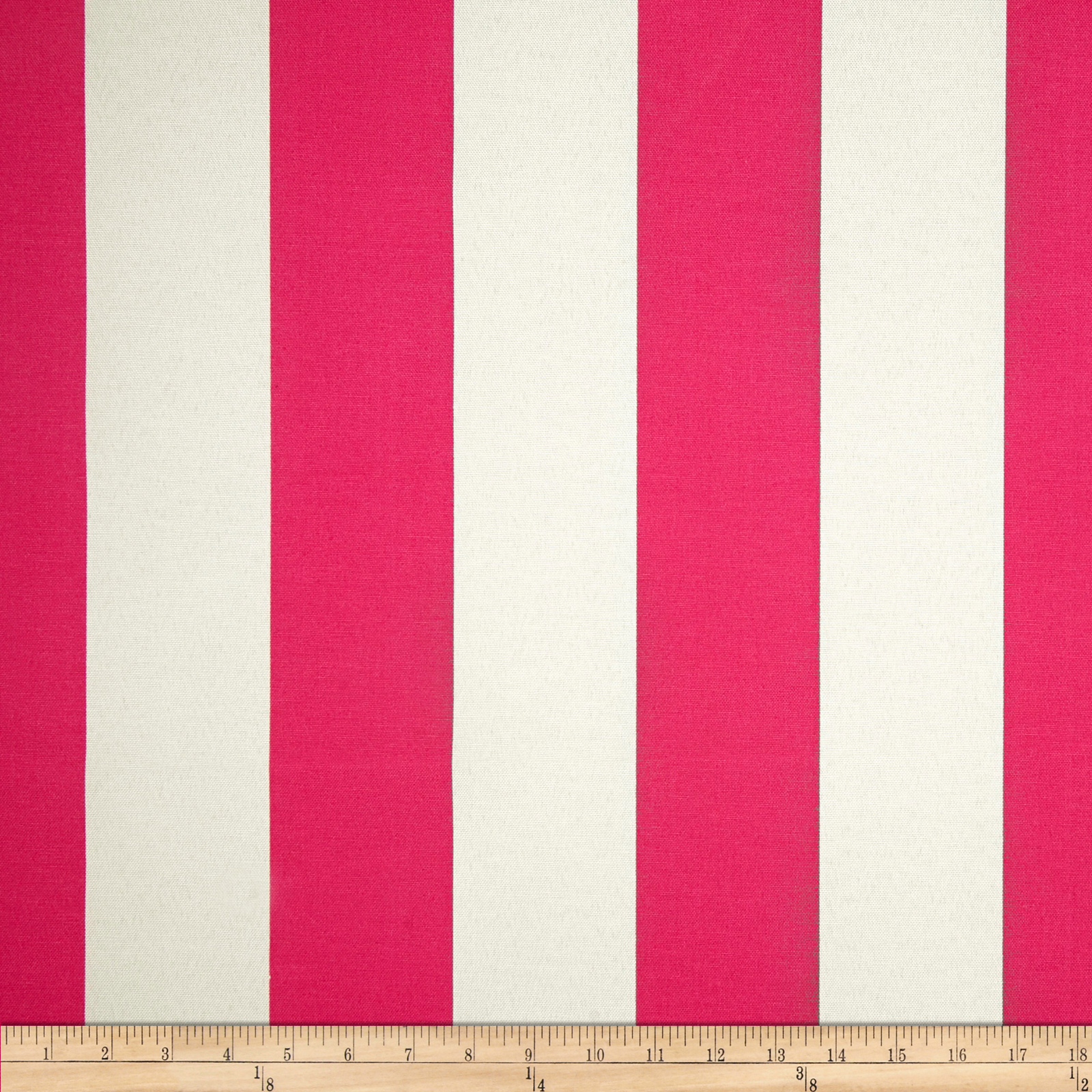Premier Prints Indoor/Outdoor Vertical Stripe Preppy Pink Fabric
