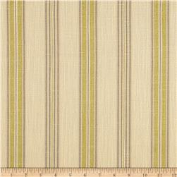 Richloom Soiree Canvas Stripe Citron