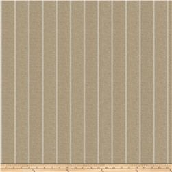 Fabricut Leland Stripe Linen Blend Putty